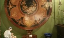 Scottish Marquetry Table $3250